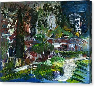 Bellapais Canvas Print by Joan De Bot