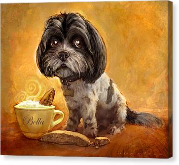 Bella's Biscotti Canvas Print