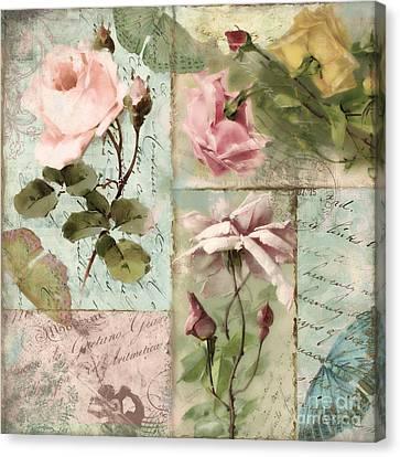 Belles Fleurs I Canvas Print