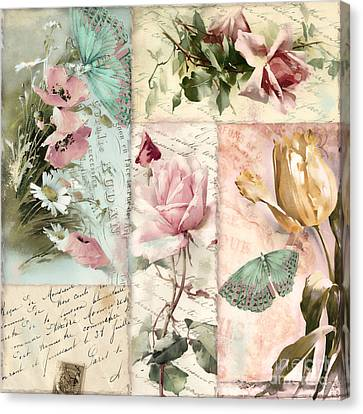 Belles Fleurs II Canvas Print