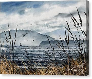 Bellingham Bay Canvas Print by James Williamson