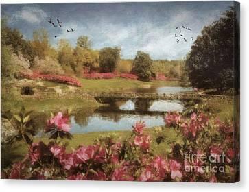 Bellingrath Gardens Canvas Print by Lianne Schneider