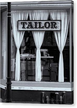 Bellows Falls Tailor Canvas Print by Tom Singleton