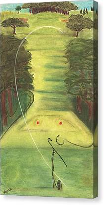 Bellwood Number Seven Canvas Print by Stu Hanson