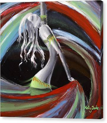 Dance Canvas Print - Belly Dancer by Kelly Jade King