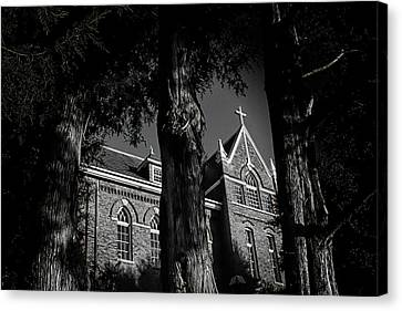 Canvas Print featuring the photograph Belmont Abbey by Jessica Brawley