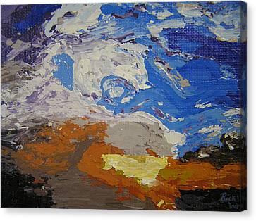 Belonging Canvas Print by Ricklene Wren