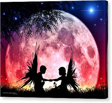 Beloved Canvas Print by Dreamlight  Creations