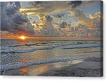 Beloved - Florida Sunset Canvas Print