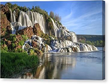 Below Fall Creek Falls Canvas Print