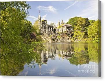 Belvedere Castle In Central Park Canvas Print