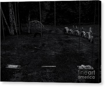 Counry Canvas Print - Belvidere Playground 1 by James Aiken