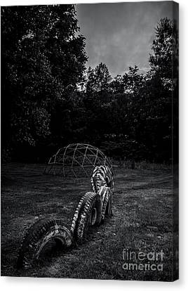Counry Canvas Print - Belvidere Playground 3 by James Aiken