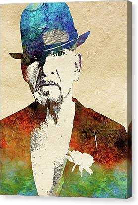 Ben Kingsley Canvas Print by Mihaela Pater