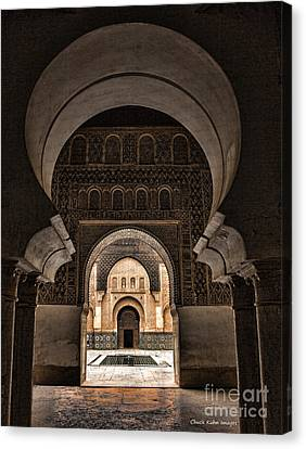 Ben Youssef IIi Canvas Print by Chuck Kuhn
