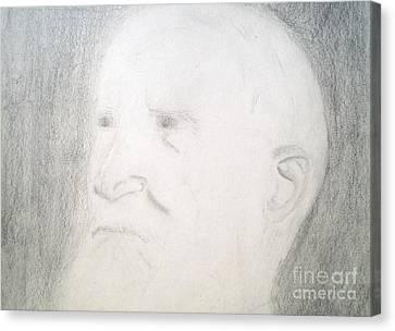 Benard Shaw Sketch Canvas Print
