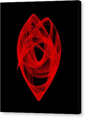 Bends Unraveling I Canvas Print