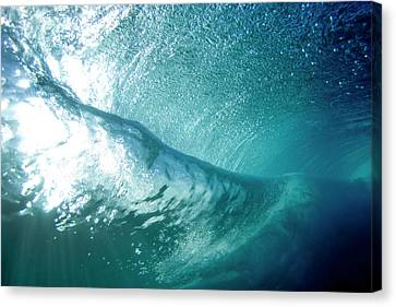 Beneath The Curl Canvas Print