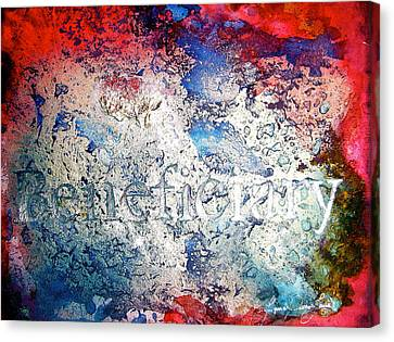 Legal Term Canvas Print - Beneficiary by Laura Pierre-Louis