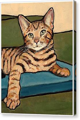 Bengal Cat Canvas Print by Joyce Geleynse