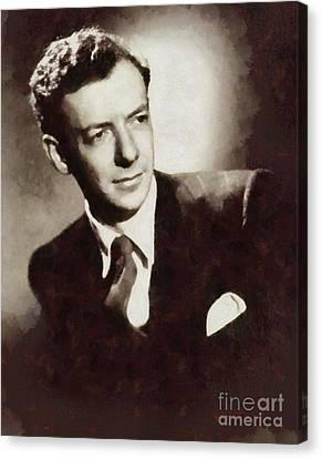 Benjamin Britten, Composer By Sarah Kirk Canvas Print