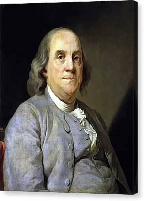 Benjamin Franklin Canvas Print