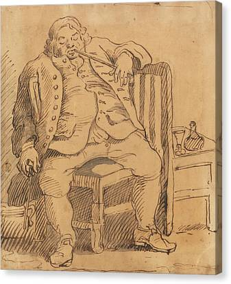 Hogarth Canvas Print - Benjamin Read by William Hogarth