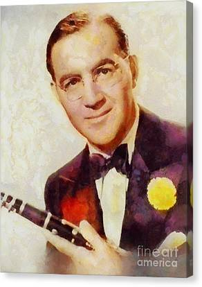 Benny Goodman, Music Legend Canvas Print