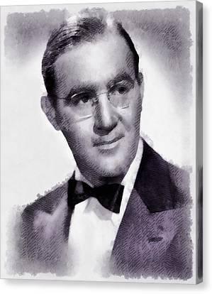 Benny Goodman, Musician Canvas Print by John Springfield