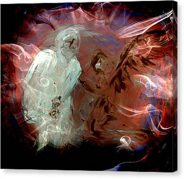 Ben's Angel 10 Canvas Print by Dorothy Berry-Lound
