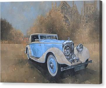 Bentley By Kellner Canvas Print