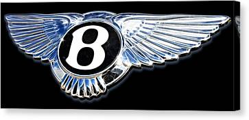 Bentley Canvas Print by Ricky Barnard