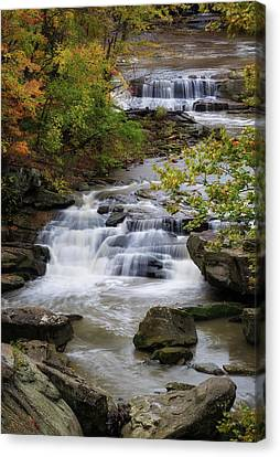 Canvas Print featuring the photograph Berea Falls by Dale Kincaid
