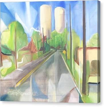 Bergen Turnpike  Canvas Print