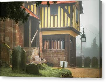 Berkswell Church Canvas Print by Chris Fletcher