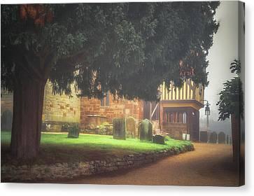 Berkswell Churchyard Canvas Print by Chris Fletcher