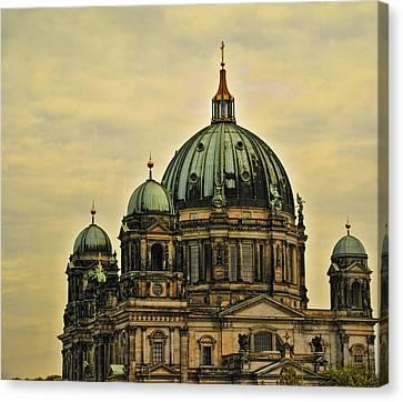 Berlin Architecture Canvas Print by Jon Berghoff