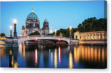 Berlin Cathedral - Museum Island Canvas Print by Alexander Voss