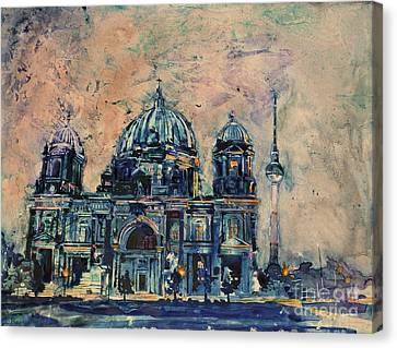 Berlin Cathedral Canvas Print by Ryan Fox
