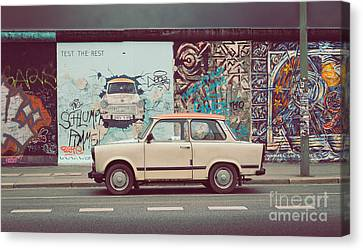 Berlin East Side Gallery Canvas Print by JR Photography