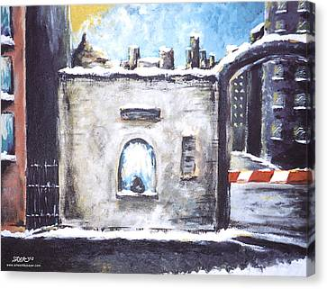 Berlin Gate No.2 Canvas Print by James Sayer