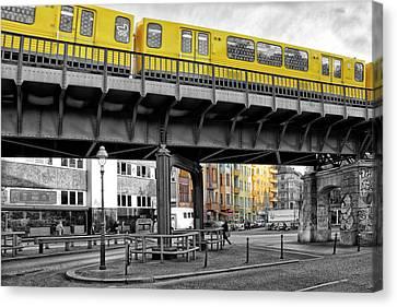 Berlin Impressions II Canvas Print by Joachim G Pinkawa