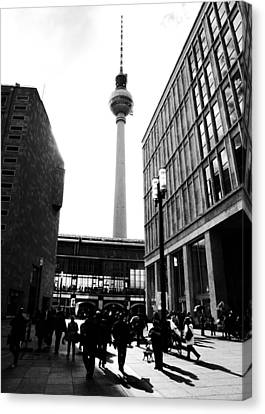 Bahn Canvas Print - Berlin Street Photography by Falko Follert