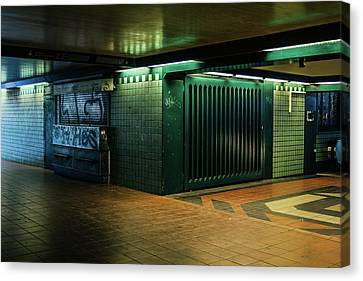 Bahn Canvas Print - Berlin Underground Station by Pati Photography