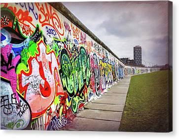 Deutschland Canvas Print - Berlin Wall  by Carol Japp