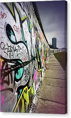 Deutschland Canvas Print - Berlin Wall Germany  by Carol Japp