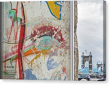 Berlin Wall Canvas Print by Jim West