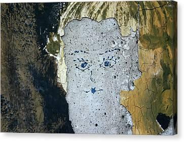 Berlin Wall Mural Canvas Print
