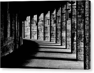 Berliner Olympic Stadion Canvas Print by Susanne Stoop