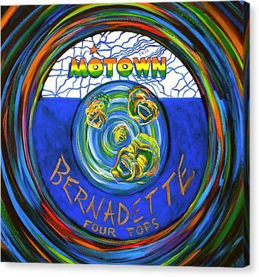 Bernadette By Four Tops Canvas Print